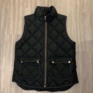J.Crew women's quilted vest
